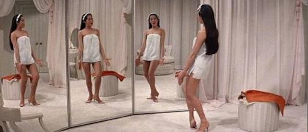 Nancy Kwan Mirror