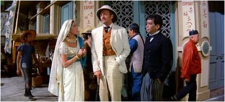 David Niven in Around the World in Eighty Days